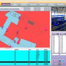 Supervision du contrôle d'accès sûreté des aéroports