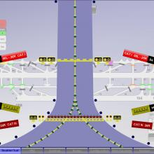 Automatisation du balisage de piste d'aéroport