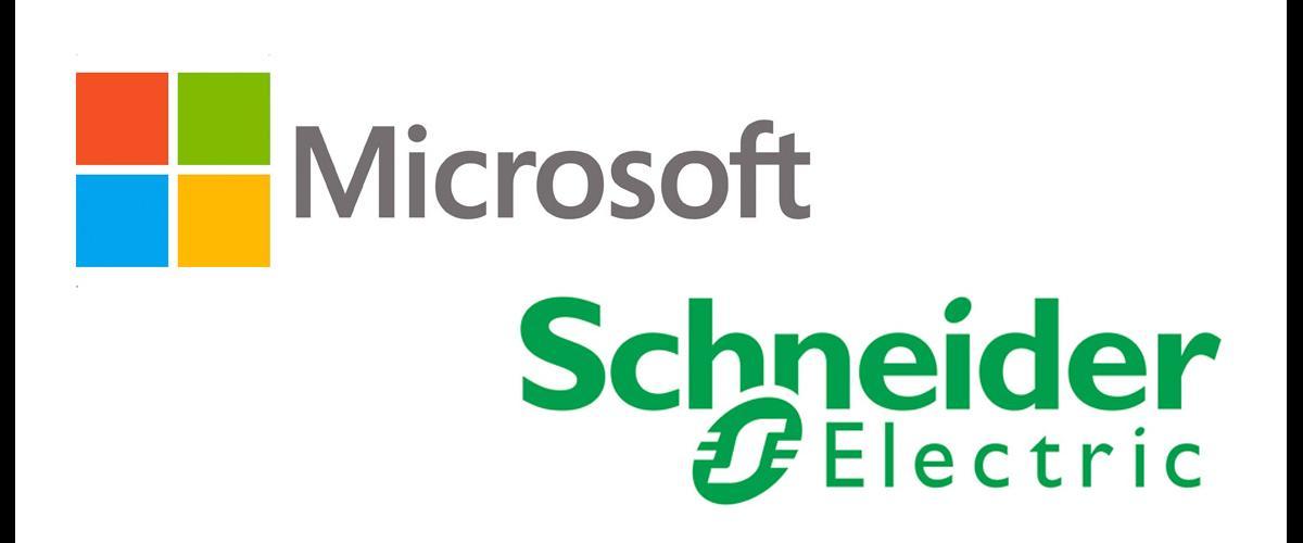 Partenariat Microsoft et Scheider Electric